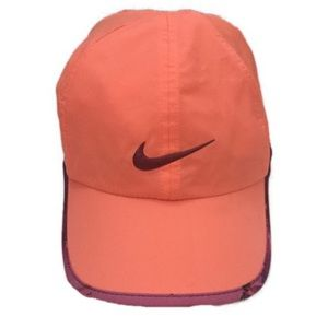 Nike dri fit feather light hat one size women's
